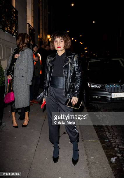 Josie Ho attends the YSL Museum for a private exhibition on February 27 2020 in Paris France