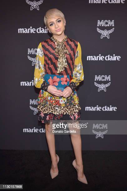Josie Jay Totah attends MCM x Marie Claire Change Makers Event at Hills Penthouse on March 12 2019 in West Hollywood California