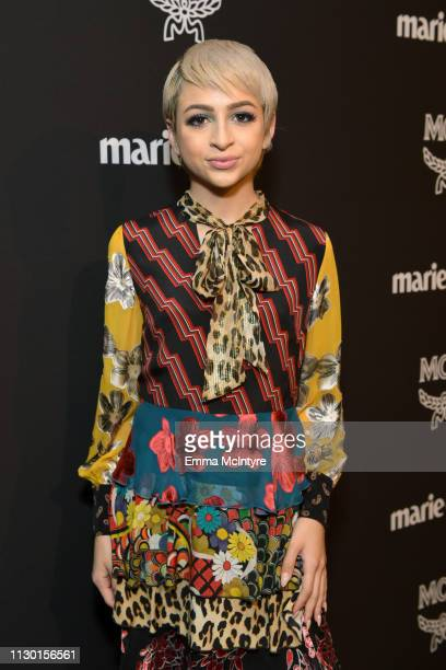 Josie Jay Totah is seen as Marie Claire honors Hollywood's Change Makers on March 12 2019 in Los Angeles California