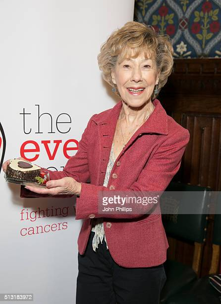 Josie Kidd attends The Eve Appeal afternoon tea party to mark the beginning of Ovarian Cancer Awareness Month at House of Commons on March 1 2016 in...