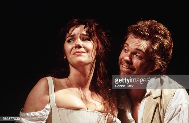 Josie Lawrence and Michael Siberry appear in a Royal Shakespeare production of The Taming of the Shrew