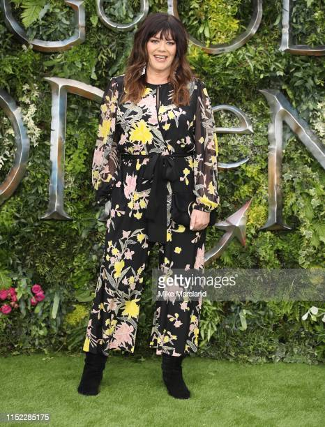 Josie Lawrence attends the Global premiere of Amazon Original Good Omens at Odeon Luxe Leicester Square on May 28 2019 in London England