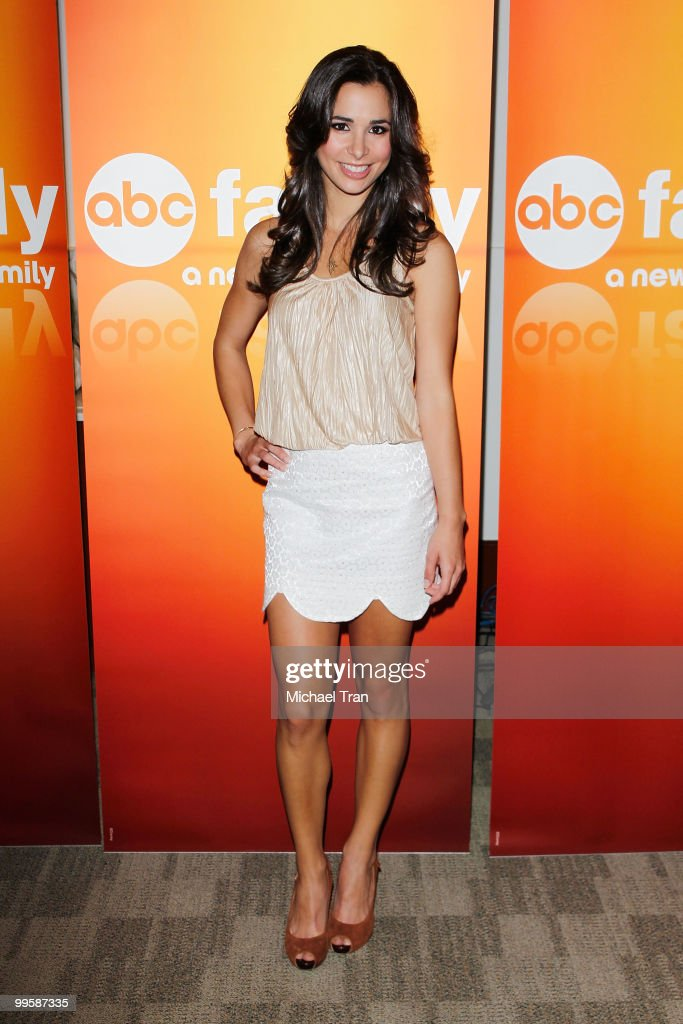 Josie Loren arrives to the Disney/ABC Television Group press junket held at the ABC Television Network Building on May 15, 2010 in Burbank, California.