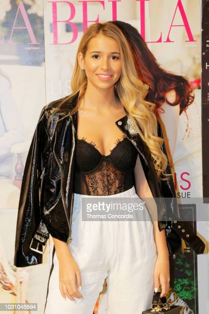Josie Loren attends the Bella booth as STYLE360 hosts Studio 189 by Rosario Dawson and Abrima Erwiah on September 10 2018 in New York City