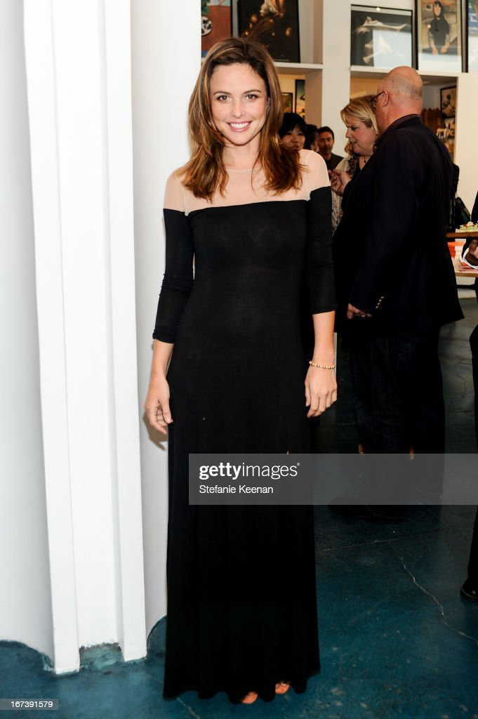 Josie Maran attends Director's Circle Celebrates Wear LACMA, Sponsored By NET-A-PORTER And W at LACMA on April 24, 2013 in Los Angeles, California.