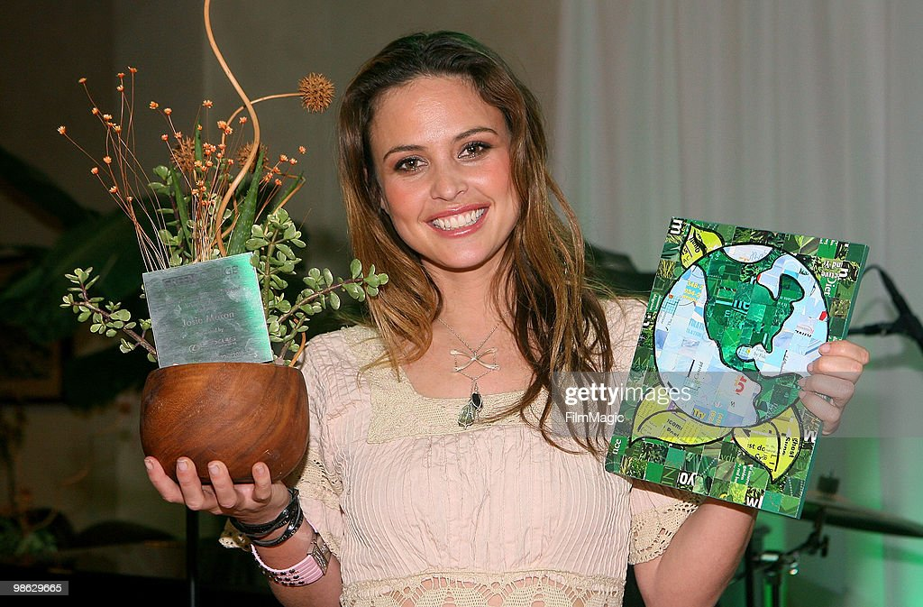 Josie Maran attends Green Lounge Eco Luxury Experience Earth Day Awards Presented By Lexus Santa Monica on April 22, 2010 in Santa Monica, California.