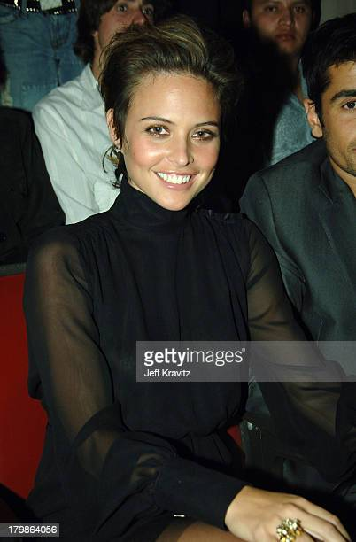 Josie Maran during 2005 Spike TV Video Game Awards - Backstage and Audience at Gibson Amphitheater in Universal City, California, United States.