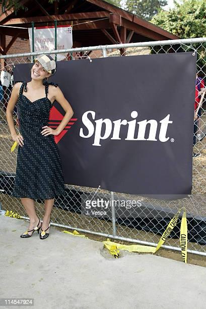 Josie Maran during KaBoom sponsored by Sprint in Van Nuys California United States