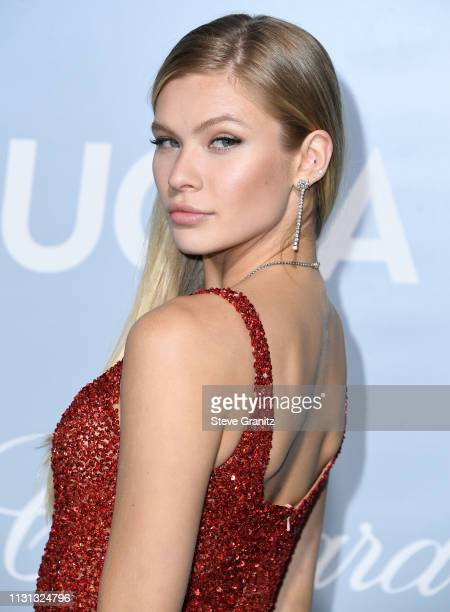 Josie Marie Canseco arrives at the Hollywood For Science Gala at Private Residence on February 21, 2019 in Los Angeles, California.