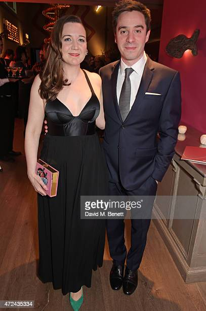 """Josie Rourke , Artistic Director of the Donmar Warehouse and director of """"The Vote"""", and playwright James Graham attend a special screening of The..."""