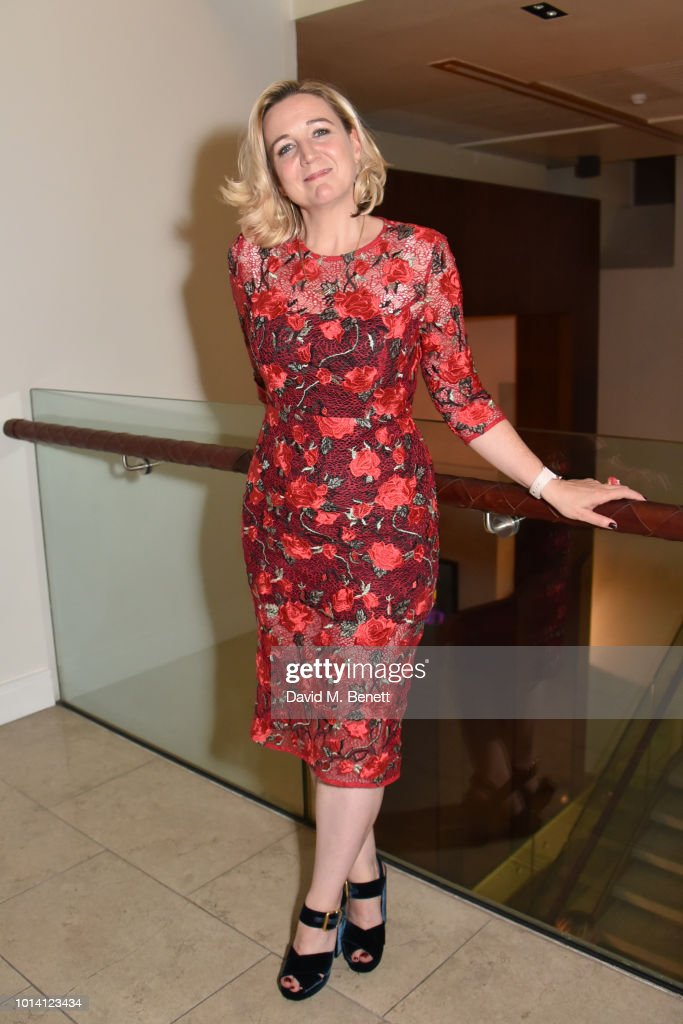 Josie Rourke attends the press night after party for 'Aristocrats' at The Hospital Club on August 9, 2018 in London, England.