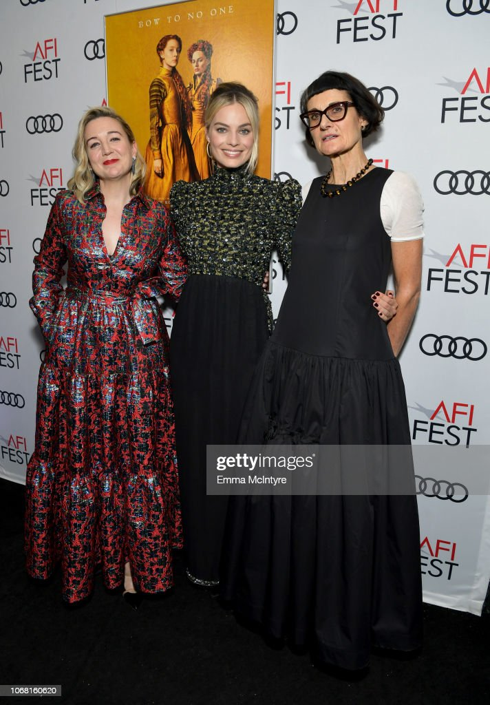 """AFI FEST 2018 Presented By Audi - Closing Night World Premiere Gala Screening Of """"Mary Queen Of Scots"""" : News Photo"""