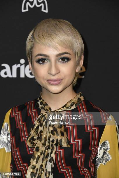 Josie Totah attends Marie Claire Change Makers Celebration at Hills Penthouse on March 12 2019 in West Hollywood California