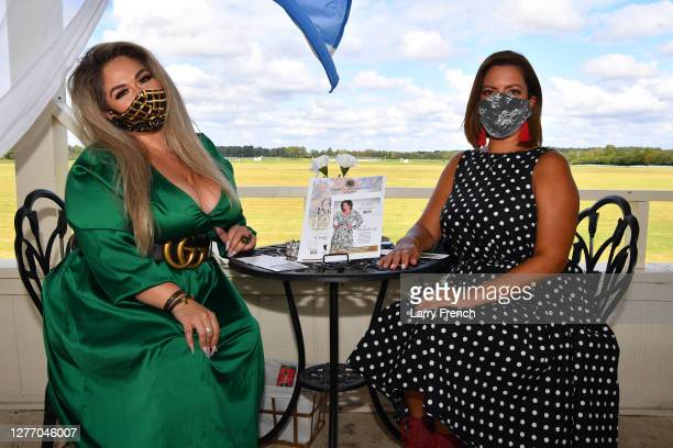 Josie Valdez and Patricia De Lima appear at Grandiosity Events 4th annual Polo & Jazz celebrity charity benefit hosted by Real Housewives of...