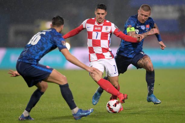 HRV: Croatia v Slovakia - 2022 FIFA World Cup Qualifier