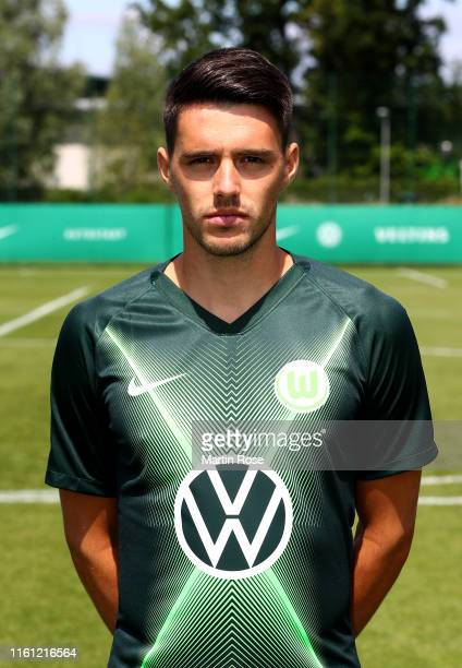 Josip Brekalo of VfL Wolfsburg poses during the team presentation on July 10 2019 in Wolfsburg Germany