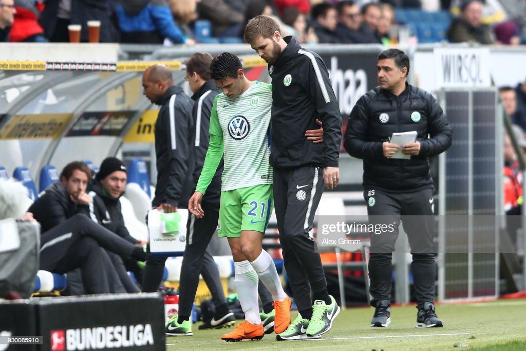 TSG 1899 Hoffenheim v VfL Wolfsburg - Bundesliga : News Photo