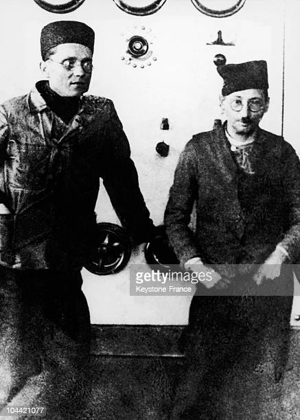 Josip Broz The Future Marshal Tito And Moshe Pijade Who Became His Collaborator For Many Years Imprisoned In Lepoglava Around 1928 Both Communists...