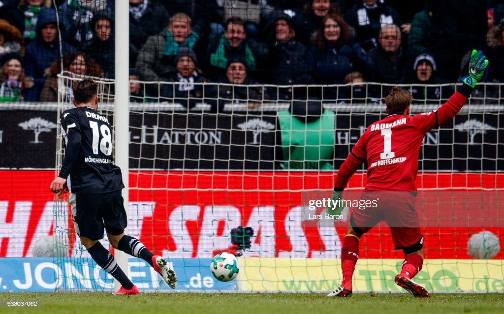 Borussia Moenchengladbach v TSG 1899 Hoffenheim - Bundesliga : Nachrichtenfoto