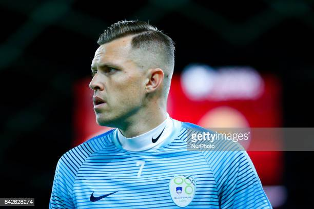 Josip Ilicic during the FIFA 2018 World Cup Qualifier between Slovenia and Lithuania at Stadion Stozice on September 4 2017 in Ljubljana Slovenia