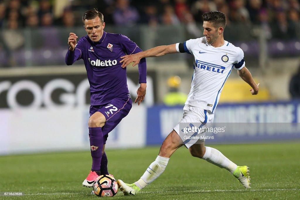 ACF Fiorentina v FC Internazionale - Serie A : Foto di attualità