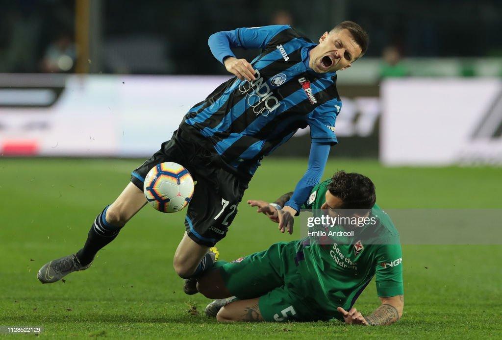 Atalanta BC v ACF Fiorentina - Serie A : Foto di attualità