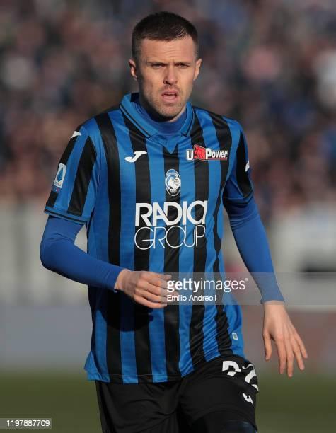 Josip Ilicic of Atalanta BC looks on during the Serie A match between Atalanta BC and Parma Calcio at Gewiss Stadium on January 6 2020 in Bergamo...