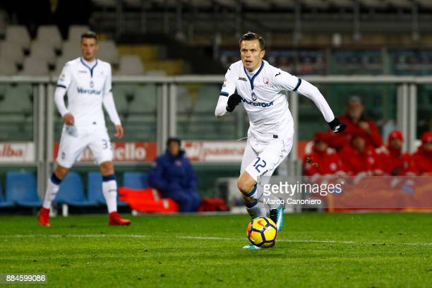 Josip Ilicic of Atalanta Bergamasca Calcio in action during the Serie A match between Torino Fc and Atalanta Bergamasca Calcio The match ended in a...