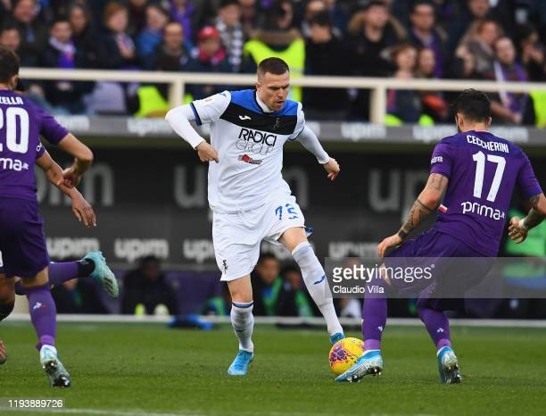 Josip Ilicic of Atalanta in action during Serie A match between ACF Fiorentina and Atalanta at Stadio Artemio Franchi on January 15 2020 in Florence...