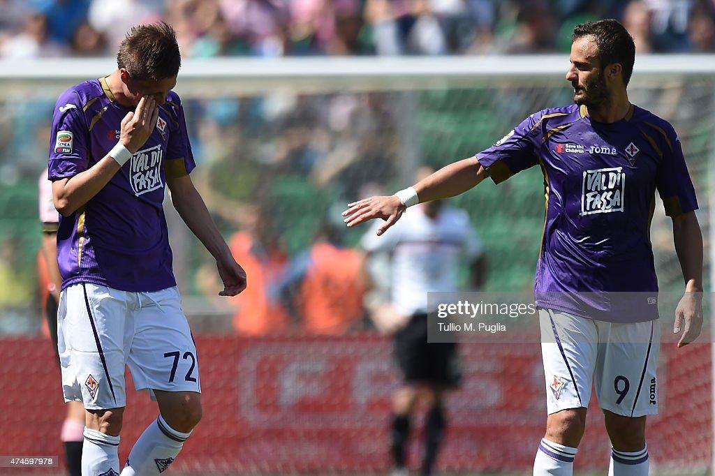 US Citta di Palermo v ACF Fiorentina - Serie A : News Photo