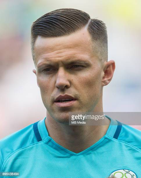 Josip Ilicic of Slovenia during football match between National teams of Slovenia and Malta in Round of FIFA World Cup Russia 2018 qualifications in...