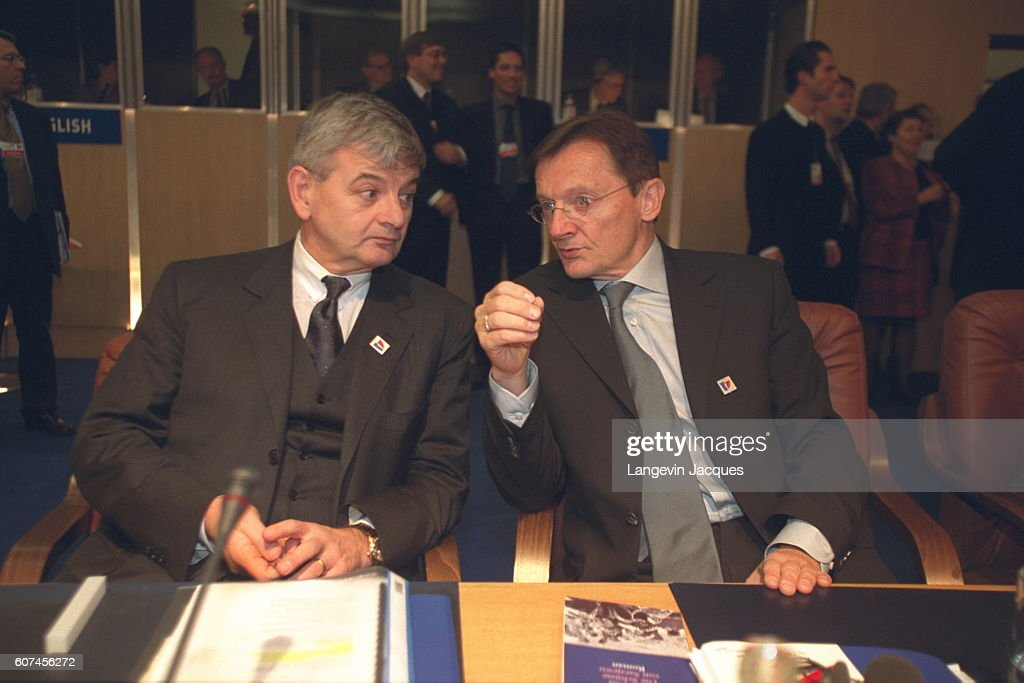 Attractive Joska Fisher And Wolfgang Schussel.