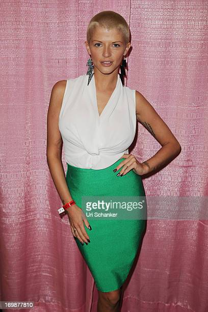 Joslyn James attends Exxxotica Expo 2013 on June 2 2013 in Fort Lauderdale Florida