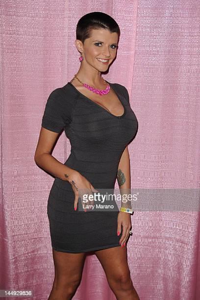 Joslyn James attends Exxxotica Miami Beach at the Miami Beach Convention Center on May 20 2012 in Miami Beach Florida