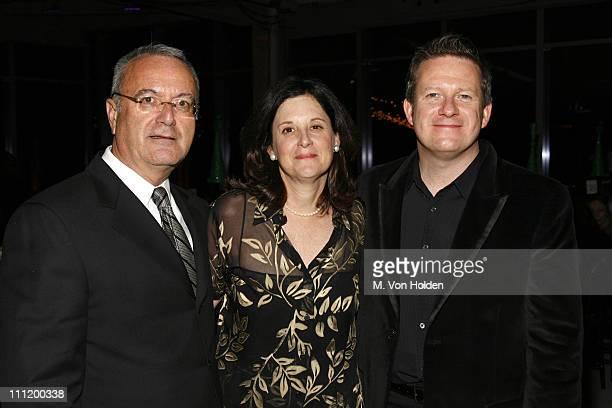 Jospeh Mellilo BAM President Karen Brooks Hopkins and Matthew Bourne