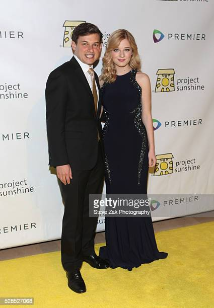 Jospeh Weilgus and Jackie Evancho attend 2016 Project Sunshine Benefit Celebration at Cipriani 42nd Street on May 5 2016 in New York City