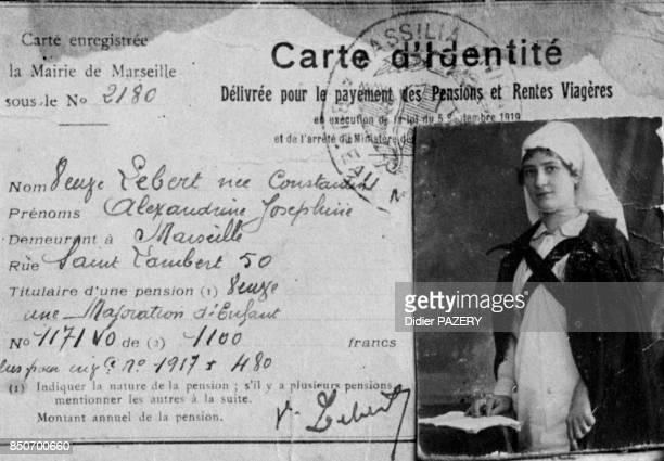 Joséphine Lebert infirmière à l'HôtelDieu de Marseille pendant la guerre 1418 née à Marseille en 1892 Durant la première guerre mondiale elle est...