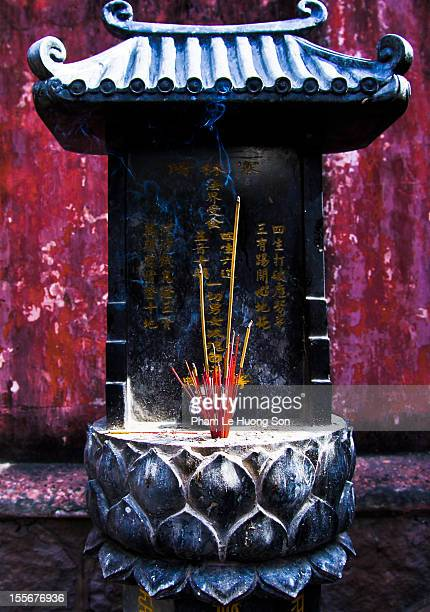 joss house at emperor jade pagoda - joss_house stock pictures, royalty-free photos & images