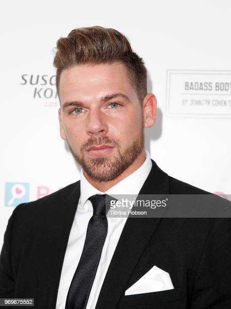 Joss Mooney attends the Babes for Boobs live auction benefiting Susan G Komen LA at El Rey Theatre on June 7 2018 in Los Angeles California