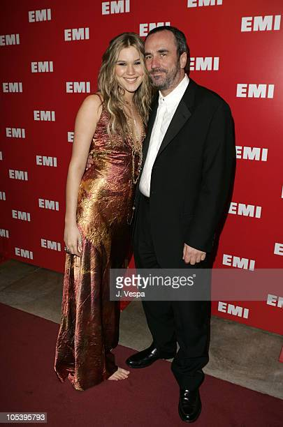 Joss Stone and David Munns vicechairman of EMI Music