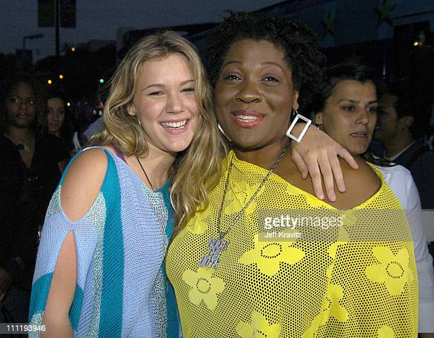 Joss Stone and Jehmu Greene president of Rock The Vote