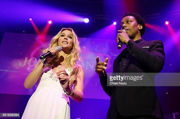 Joss Stone and Lemar perform at Roundhouse on May 15 2016 in London England