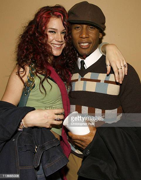 Joss Stone and Raphael Saadiq during 2007 Park City 'Chapter 27' Premiere After Party at Airborne Lounge in Park City Utah United States