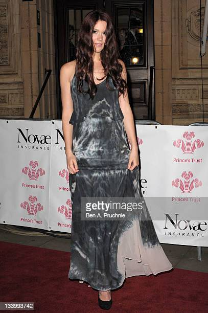 Joss Stone attends the Prince's Trust Rock Gala 2011 at Royal Albert Hall on November 23 2011 in London England