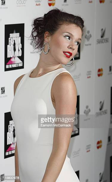 Joss Stone attends the Swarovski Fashion Rocks a the the Royal Albert Hall on October 18 2007 in London England