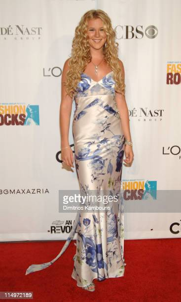 Joss Stone during 2005 Fashion Rocks Arrivals at Radio City Music Hall in New York City New York United States