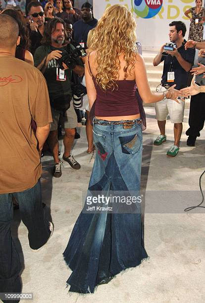 Joss Stone during 2005 MTV Video Music Awards White Carpet at American Airlines Arena in Miami Florida United States