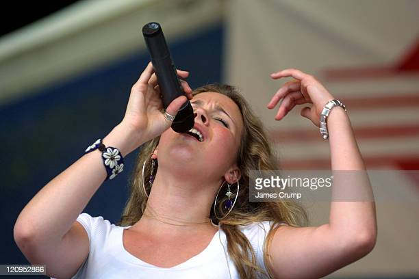 Joss Stone during 35th Anniversary of the New Orleans Jazz & Heritage Festival - Day 4 at New Orleans Fair Grounds in New Orleans, Louisiana, United...