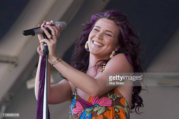 Joss Stone during 38th Annual New Orleans Jazz Heritage Festival Presented by Shell Joss Stone in New Orleans United States