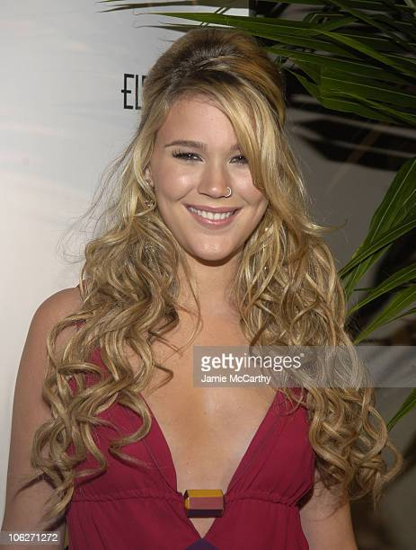 Joss Stone during An Enduring Vision A Benefit for the Elton John AIDS Foundation at Cipriani Wall Street in New York City New York United States